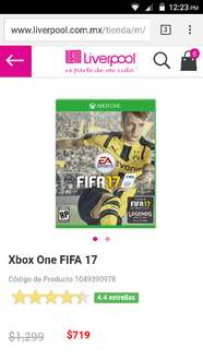 Liverpool: fifa 17 xbox one o ps4
