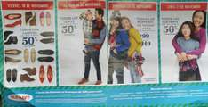 Old Navy: Buen Fin 2016: Viernes 50% Desc. Zapatos; Sábado 50% Desc. Jeans; Domingo Playeras Manga Larga Niños $99 Adultos $149; Lunes 50% Desc. Suéteres 50% Desc. + 3 MSI