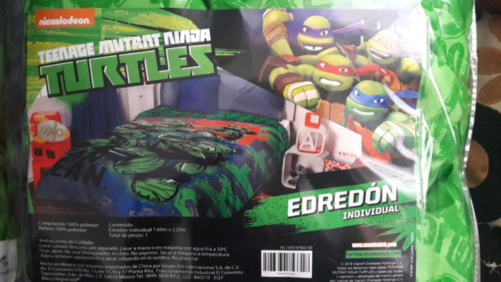 Walmart: edredón con licencia de las Tortugas Ninja a $82.01