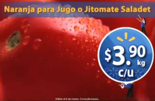 Martes de Frescura en Walmart marzo 6: manzana $16,40, jitomate $3.90 y más
