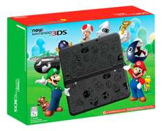Amazon MX: New Nintendo 3ds Edición Limitada Super Mario Color Negro