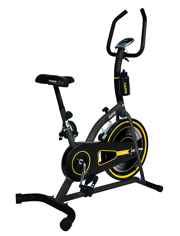 Amazon: Body Fit Bicicleta Fija  para Spinning