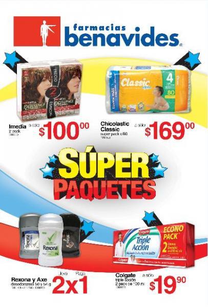 Folleto Farmacias Benavides marzo 2: 2x1 en desodorantes Rexona y Axe, 3x2 en Heinz y más