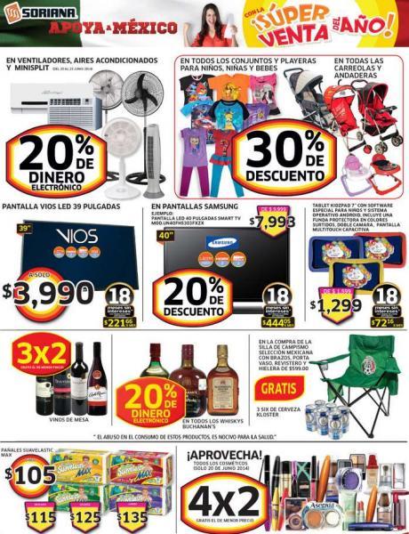 Súper venta del año Soriana: 4x2 en cosméticos, 3x2 en botellas de vino y más