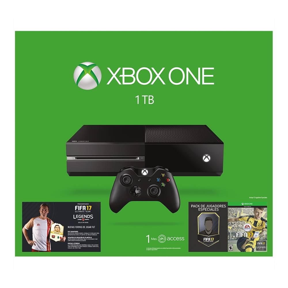 El Buen Fin 2016 en Walmart: Xbox one 1 TB con Fifa 17 a $4,999 con BBVA Wallet o $5,299 pagando con Bancomer
