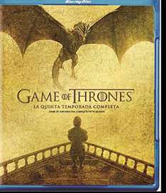 El Buen Fin 2016 en Amazon: Game of Thrones Temporada 5 (Blu-Ray)