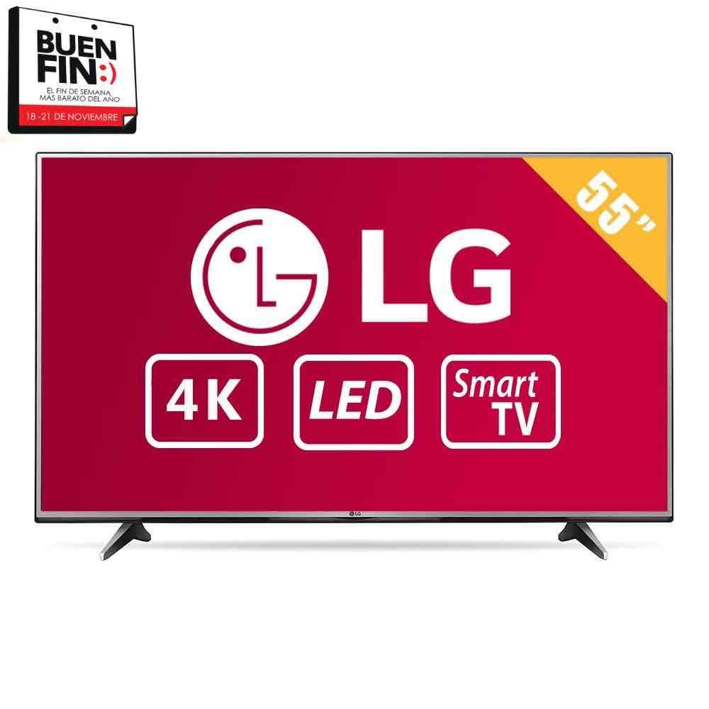 "Buen Fin 2016 Walmart: Pantalla LG 55"" 4K Smart TV (con banamex a $10,234)"