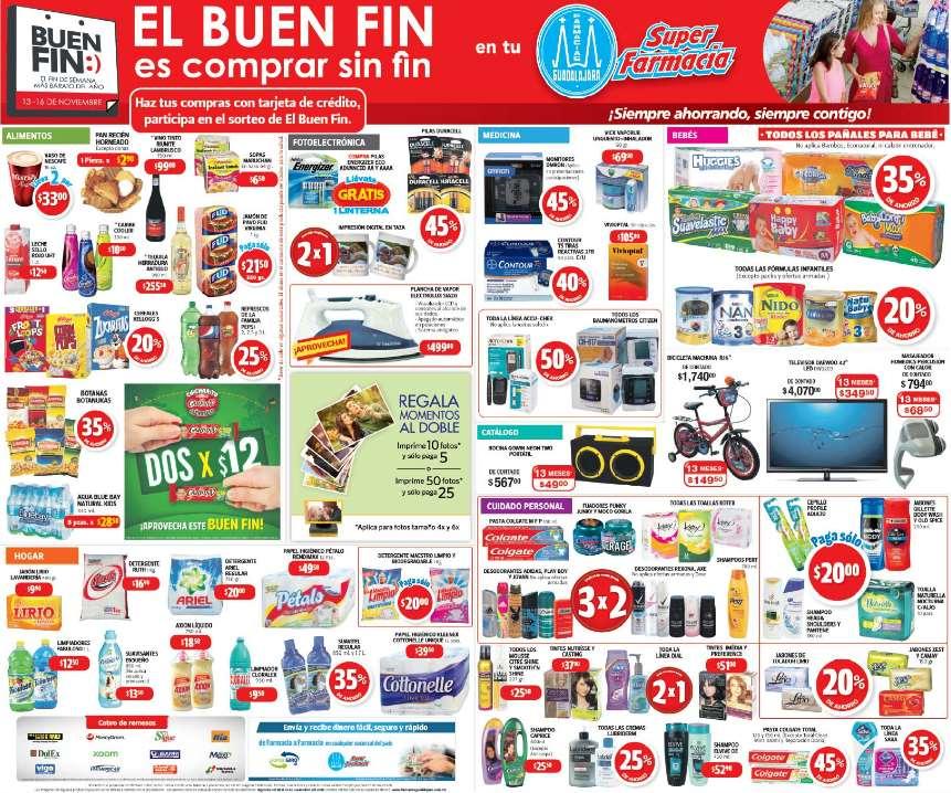 El Buen Fin 2016 en Farmacias Guadalajara