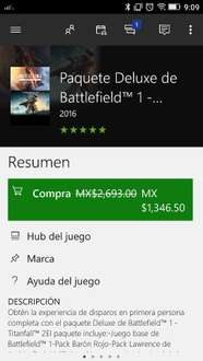 Black Friday Xbox Market Place: Bundle TitanFall 2 y Battlefield 1 Xbox One