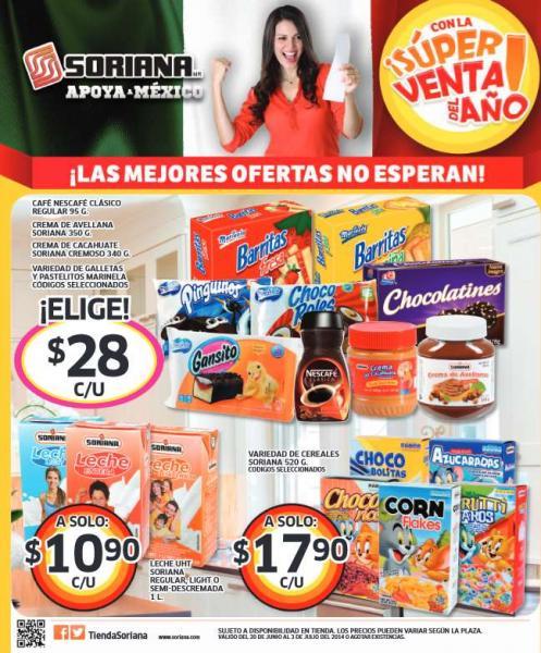 Soriana: súper venta del año con 3x2 en varios artículos y más oferytas