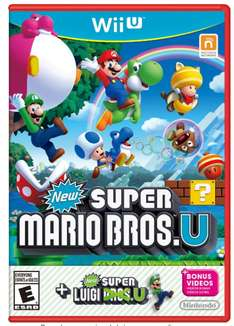 Buen Fin 2016 Amazon: Super Mario Bros. and Super Luigi - Wii U - Standard Edition