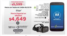 Buen Fin 2016 Sam's Club: Moto G4 plus + lentes de realidad virtual