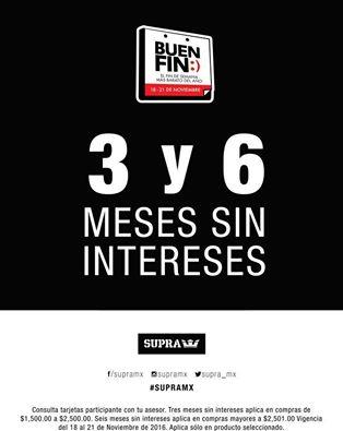 Ofertas Buen Fin 2016 Supra Footwear: Descuentos / 3 & 6 Meses Sin Intereses con Bancomer