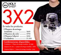 Holy Sheep Polanco: 3x2 en productos