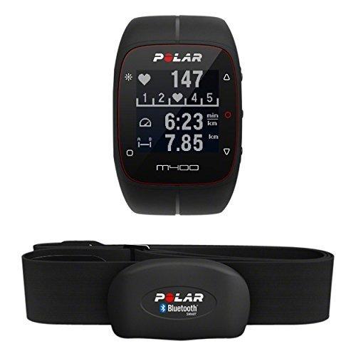 Buen Fin 2016 Amazon: Polar M400 HR Reloj de Carrera con GPS y Monitor de frecuencia cardíaca, negro