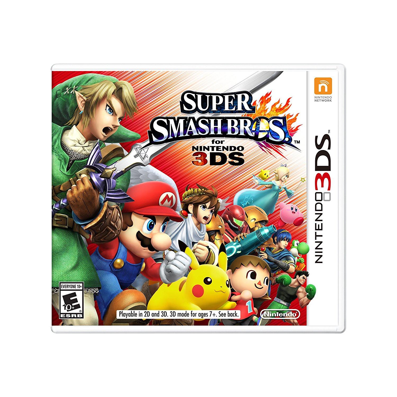 El Buen Fin 2016 en Amazon: Super Smash Bros para 3DS