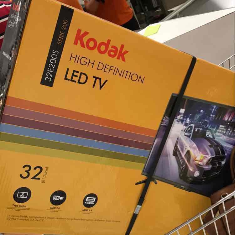 "Comercial Mexicana: pantalla LED 32"" Kodak a $2,290"