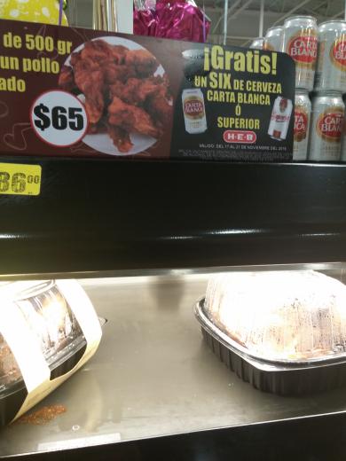 HEB Aguascalientes:  Six Carta Blanca o Superior gratis en la compra de 500grs de alitas adobadas