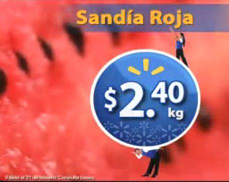 Martes de Frescura Walmart febrero 21: sandía $2.40, jitomate $4.40 y más