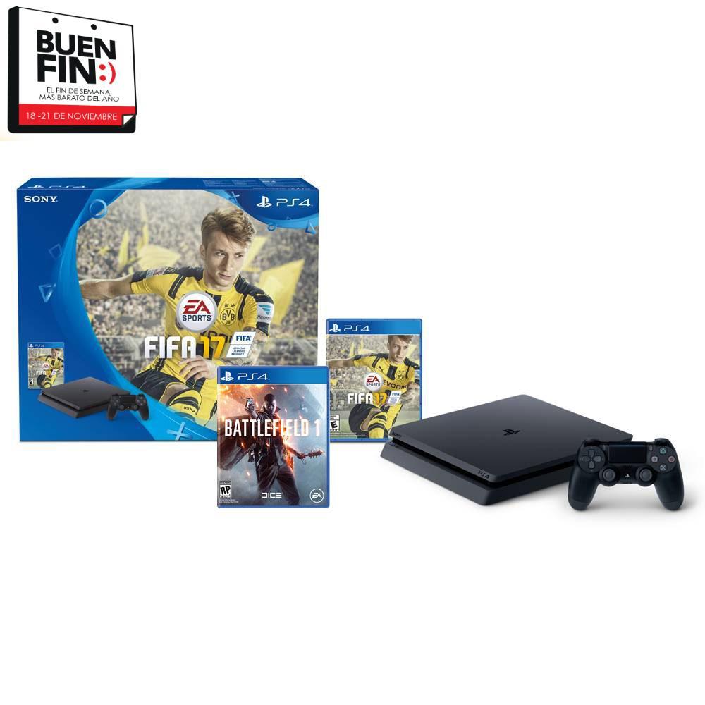Buen Fin 2016 Walmart: PS4 slim + 2 juegos desde $5,099