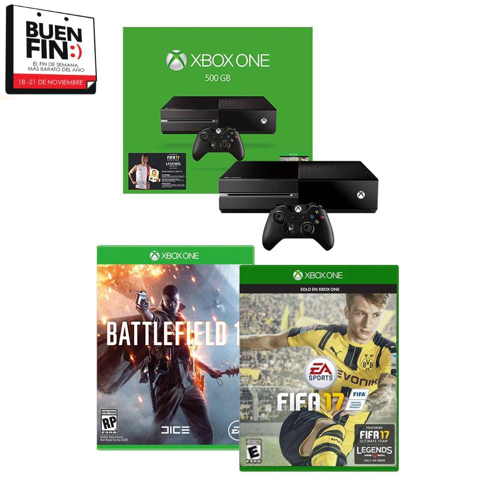 Walmart El Buen Fin 2016: TODAS las ofertas de Xbox One
