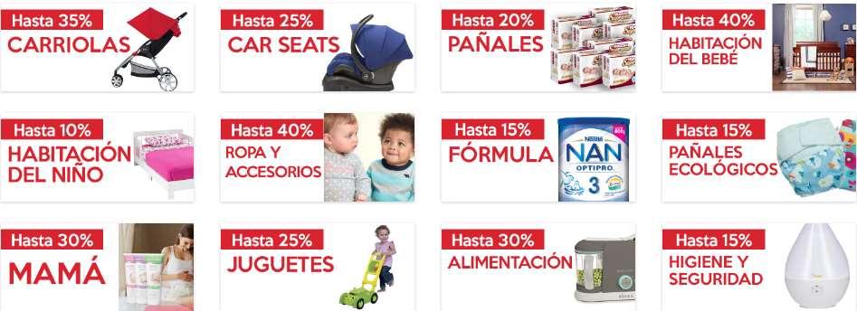 El Buen Fin 2016 en bebe2go: descuentos en pañales, leche, juguetes y más