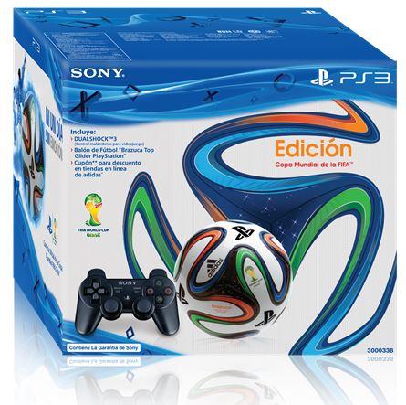 Best Buy: paquete control PS3 y balón del Mundial $799
