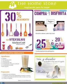 The Home Store: 30% de descuento en utencilios Kitchen Craft y más