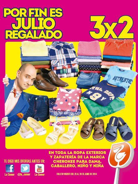 Folleto de ofertas de Julio Regalado en La Comer del 20 al 26 de junio