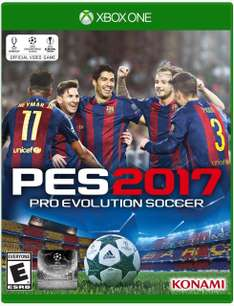 Amazon: PES 2017 para Xbox One