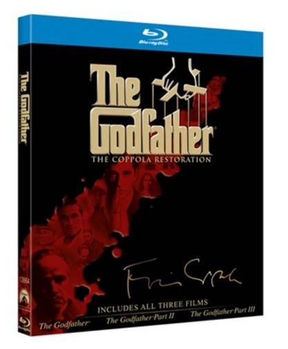 Amazon: Trilogía de El Padrino en Blu-Ray