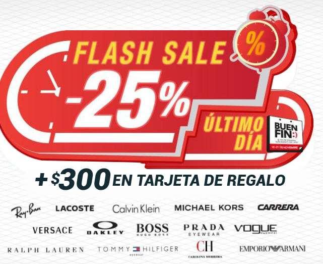 Devlyn El Buen Fin 2016 Flash Sale: 25% + bonificación en lentes de sol