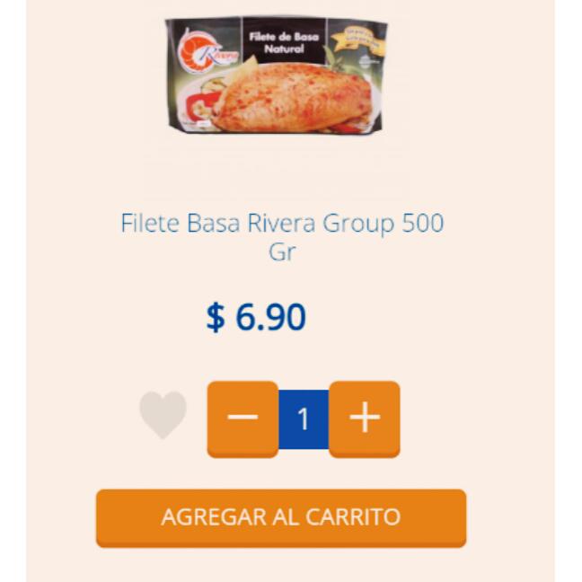Chedraui Calzada: Filete de Pescado 500gr. $6.90 más el 20% de descuento