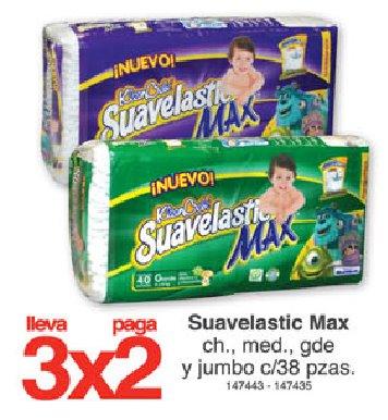 Farmacias Benavides: 3x2 en pañales Kleen Bebé Suavelastic Max y más