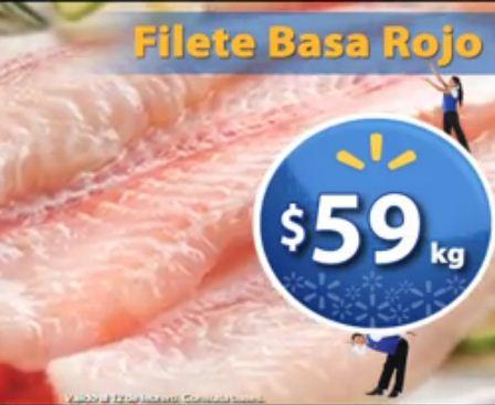 Fin de semana de frescura Walmart a febrero 12: filete basa $59 y más