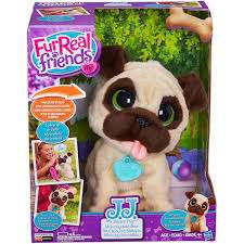 Buen Fin 2016 Amazon: FurReal Friends JJ My Jumpin' Plush Pug dog English Version