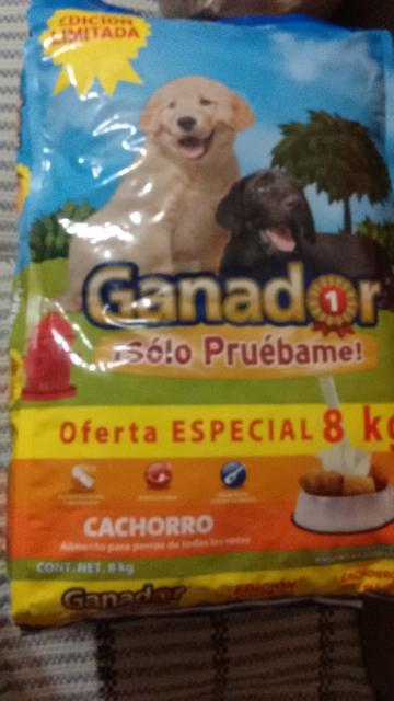 Walmart Coacalco: croquetas ganador cachorro de 8 kg