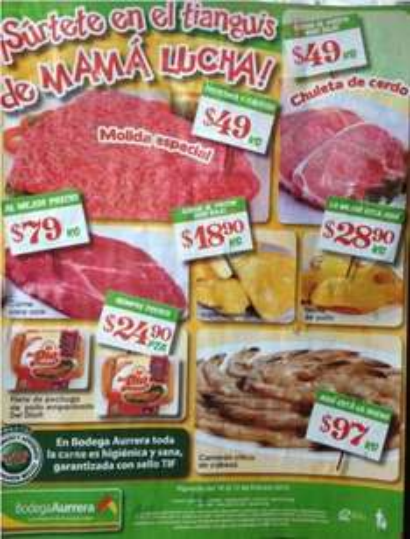 Tianguis de Mamá Lucha Bodega Aurrerá febrero 10: sandía $4.90 Kg, cebolla $5.90 Kg y más