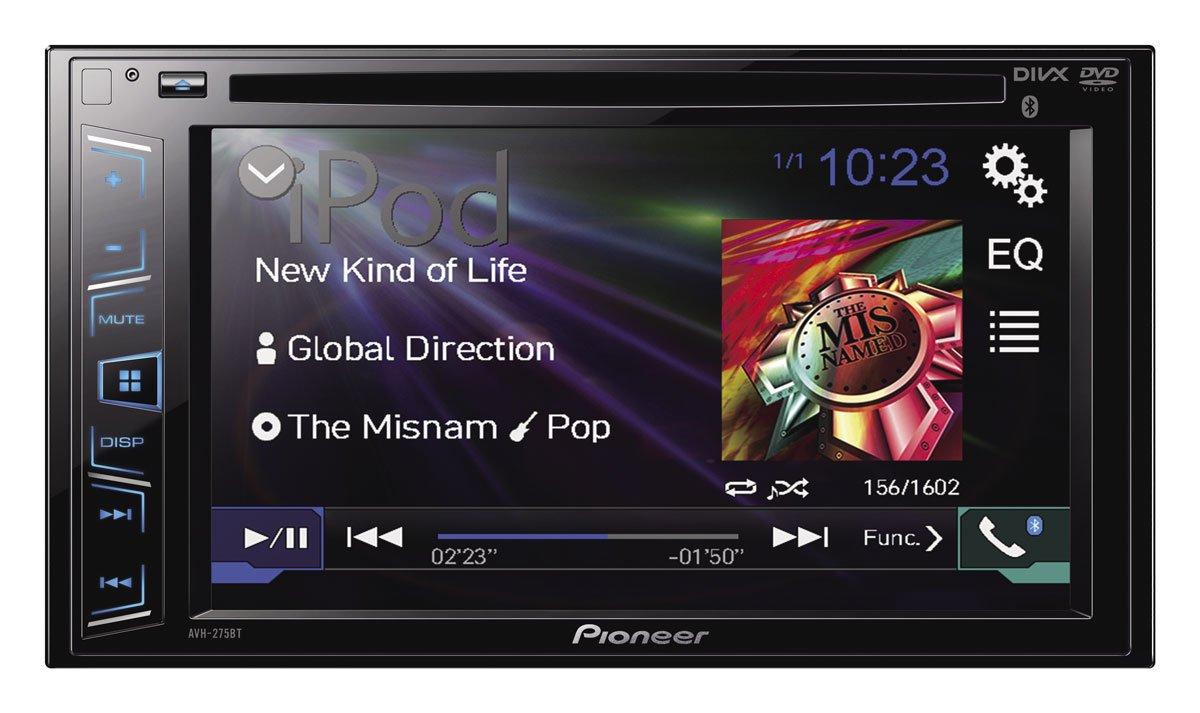 Claro Shop: pantalla pioneer doble DIM Bluetooth
