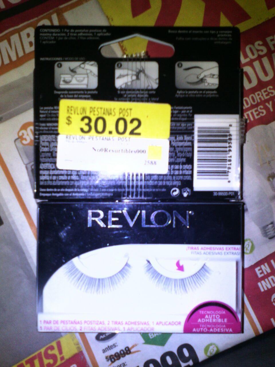 Walmart Universidad Villahermosa: Pestañas postizas Revlon a $30.02