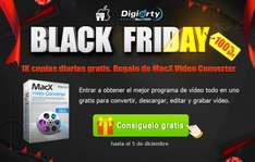Black Friday Consigue Gratis MacX Converter Pro Conversor de Video Para MacOs
