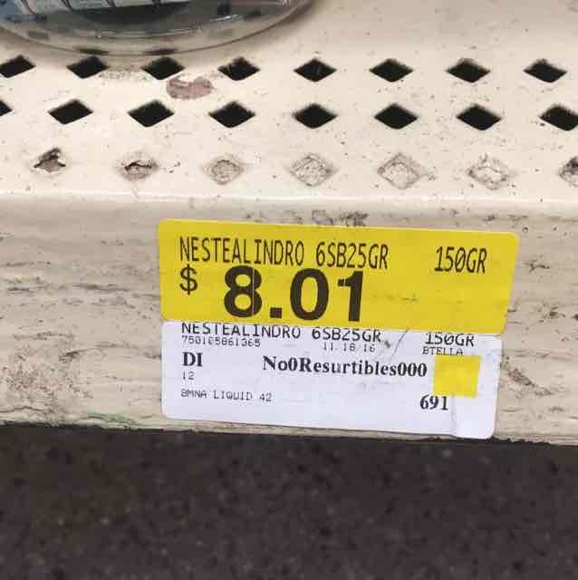 Walmart: termo Nestea más 6 sobres a $8.01