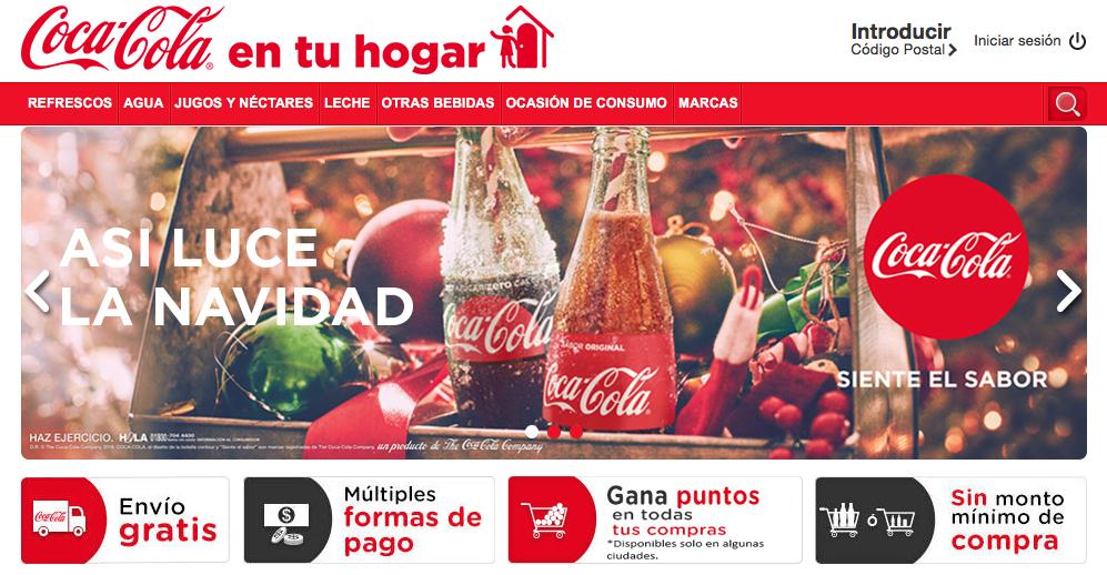 Coca Cola en Tu Hogar: Promociones y envío gratis siempre sin mínimo de compra.