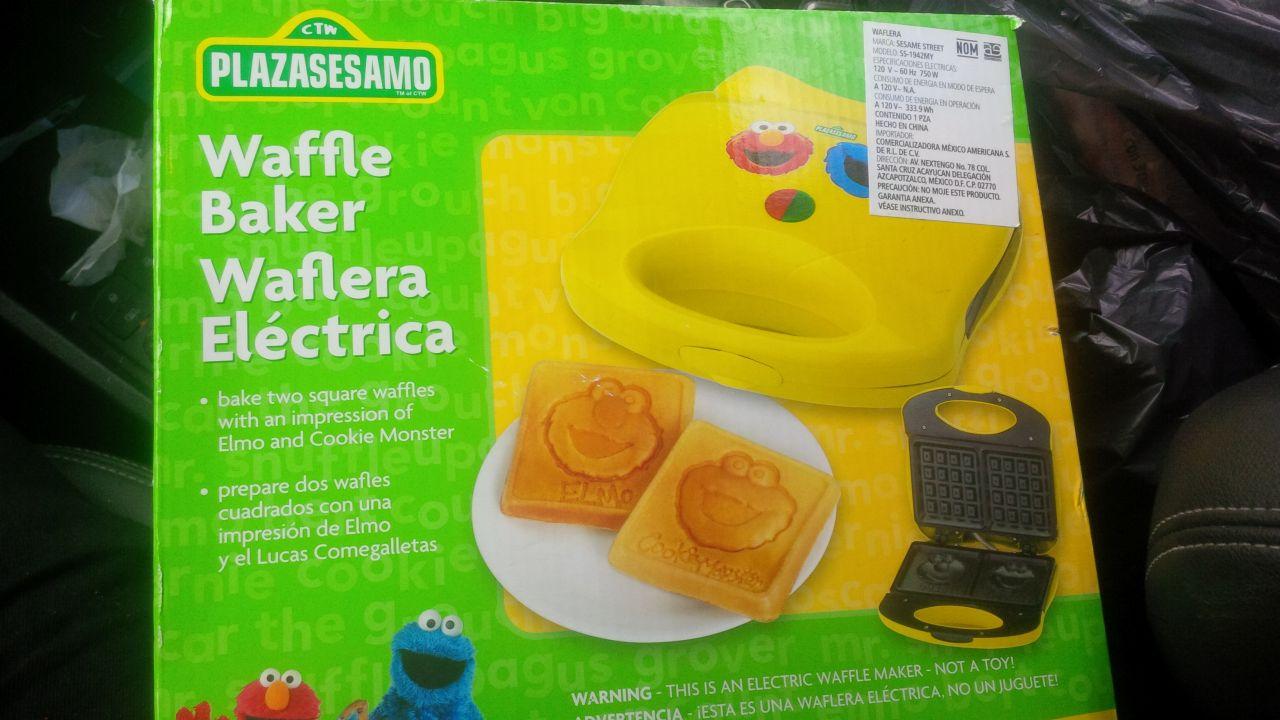 Walmart:  waflera plazasesamo al parecer en su última liquidación $159.01