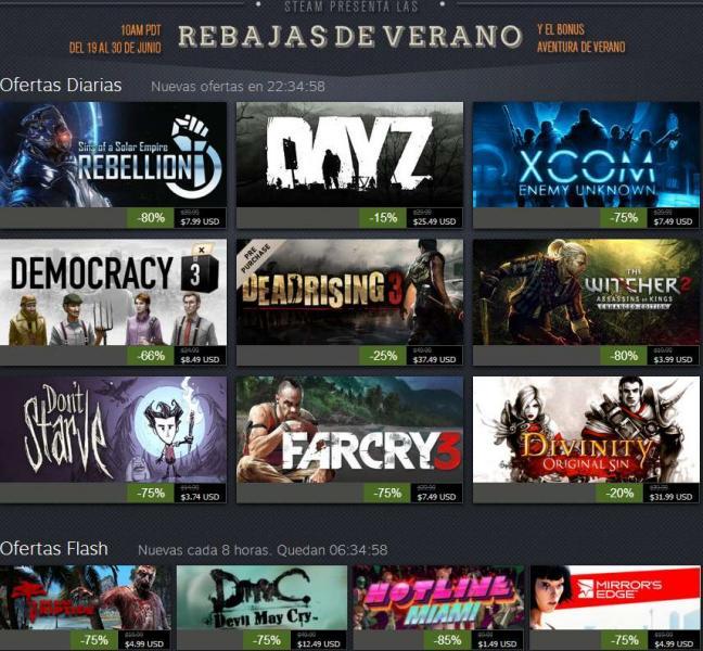 Steam: rebajas de verano: Dead Island Riptide $5 dólares y más