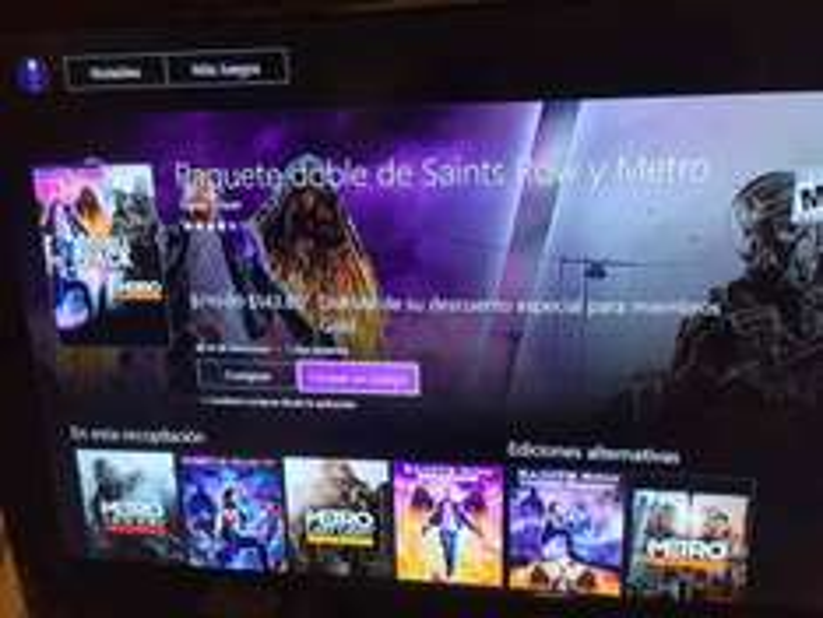 Xbox Live: Paquete doble de Saints Row y Metro a $144 con Gold