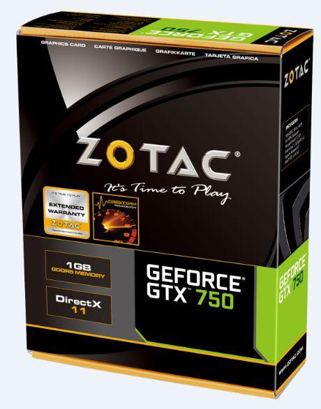 Amazon: Zotac GTX 750 LP 1GB GDDR5