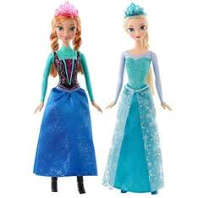 Woolworth: Muñecas Ana o Elsa Frozen