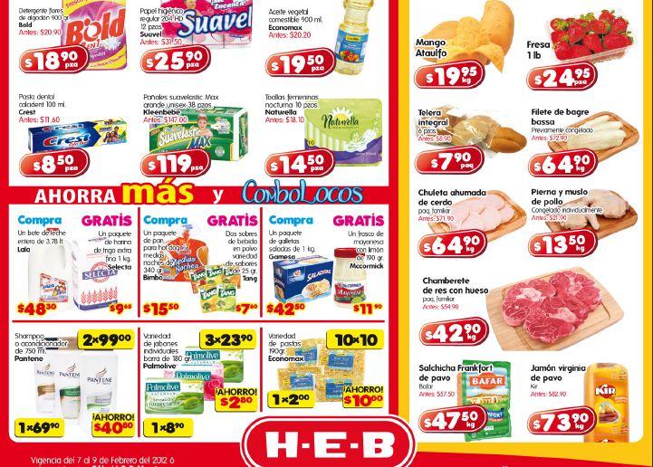 Ofertas de frutas y verduras HEB febrero 7: zanahoria $1.95 Kg, tomate $4.95 Kg y más