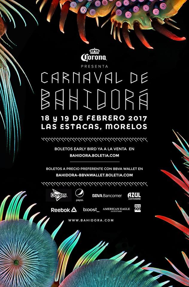 Boletia: Boleto Festival Bahidorá $200 de descuento con BBVA Wallet